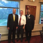 Pic State Comptroller Peter Franchot- Mayor Fred Robinson and I at Mayor Fund Raiser