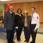 Senior Center with Ingrid Turner- Fire Chief Marc Bashoor- Mom and I